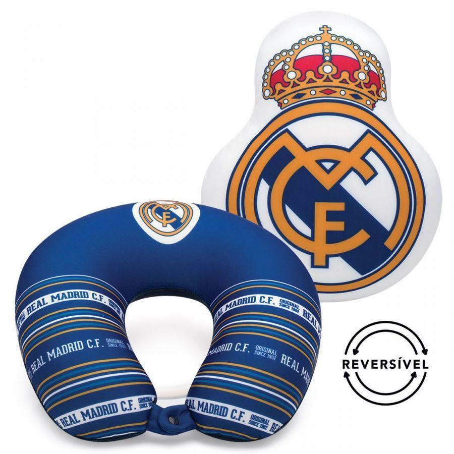 Almofada Reversível Brasao Real Madrid