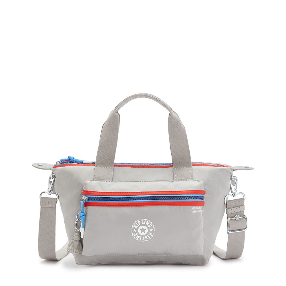 Bolsa Kipling Art Mini P Grey Gris Bl