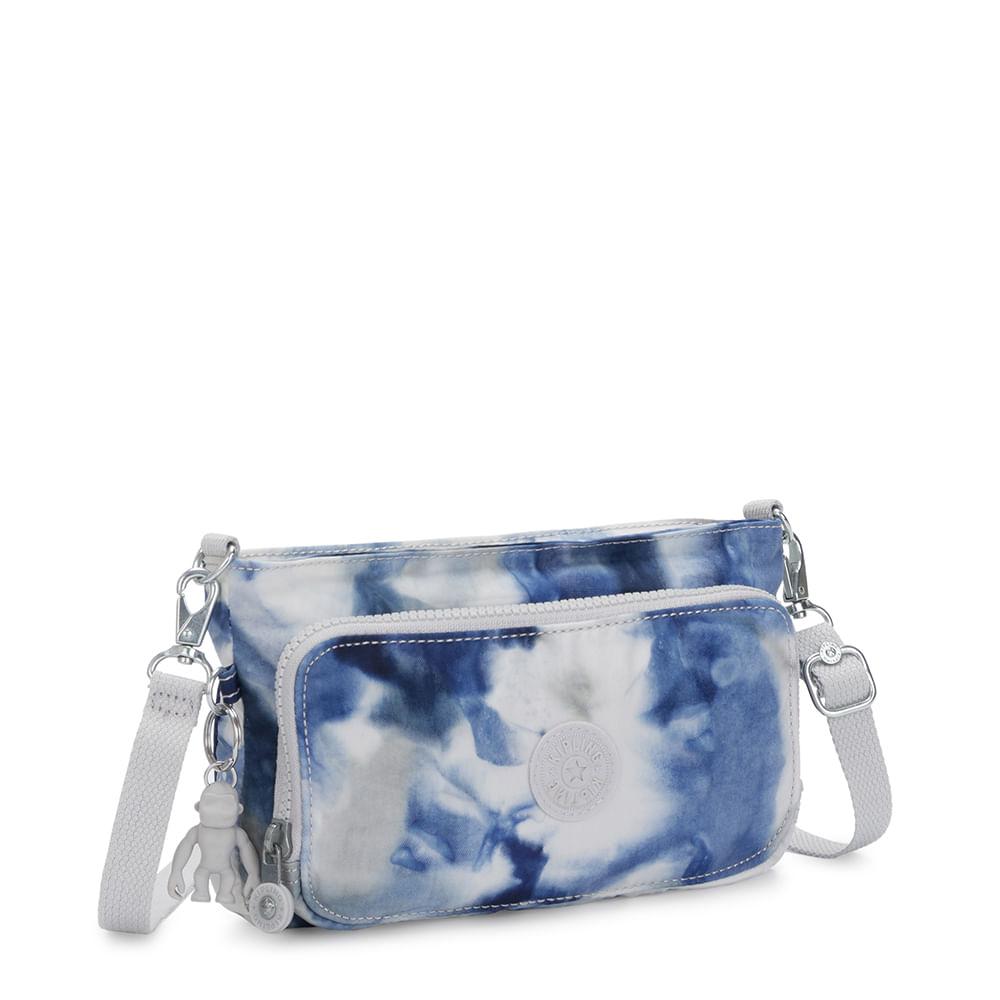 Bolsa Kipling Myrte Tie Dye Blue