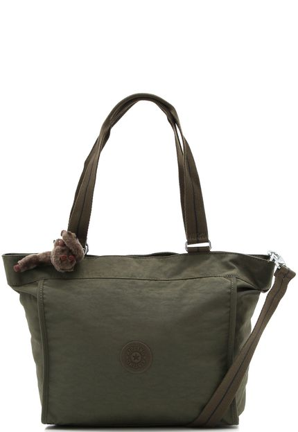 Bolsa Kipling New Shopper S Jaded Green Combo