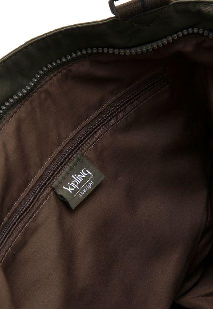 Bolsa Kipling New Shopper S Jaded Green Combo