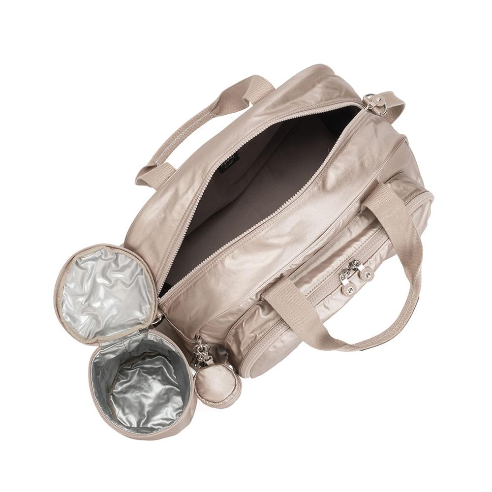 Bolsa Maternidade Kipling Camama Metallic Glow Baby