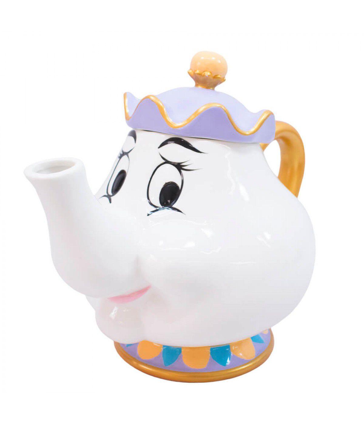 Bule 3D Disney A Bela e a Fera Madame Samovar