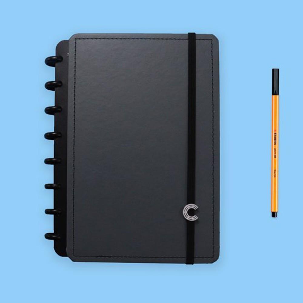 Caderno Inteligente A5 Casual Basic Grey