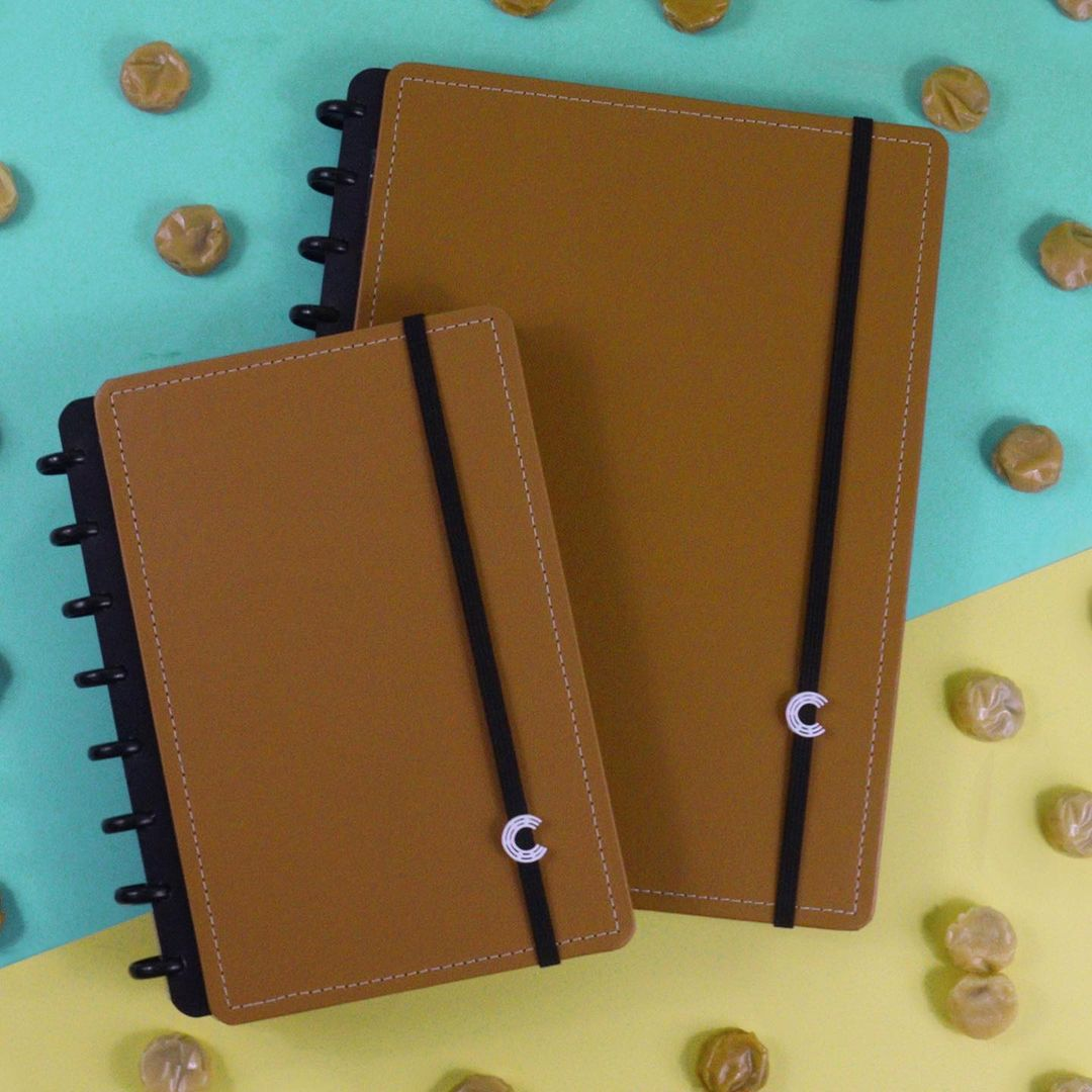 Caderno Inteligente A5 Casual Caramel