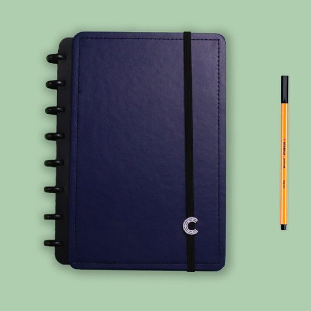 Caderno Inteligente A5 Casual Dark Blue