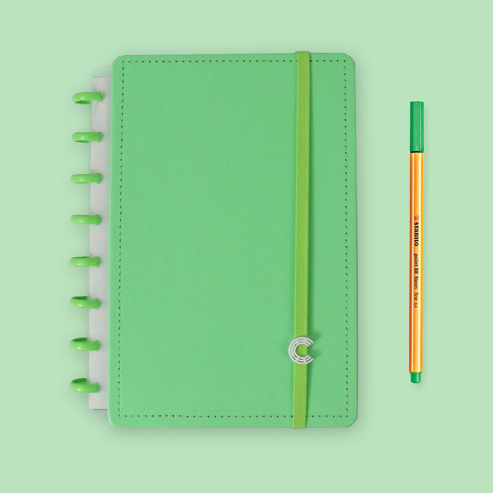 Caderno Inteligente A5 Color All Green