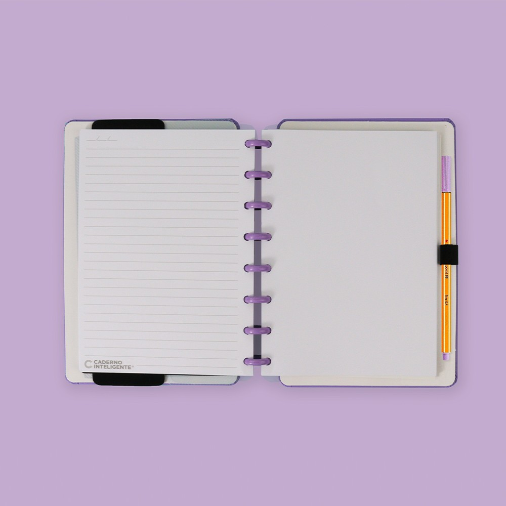 Caderno Inteligente A5 Color All Purple