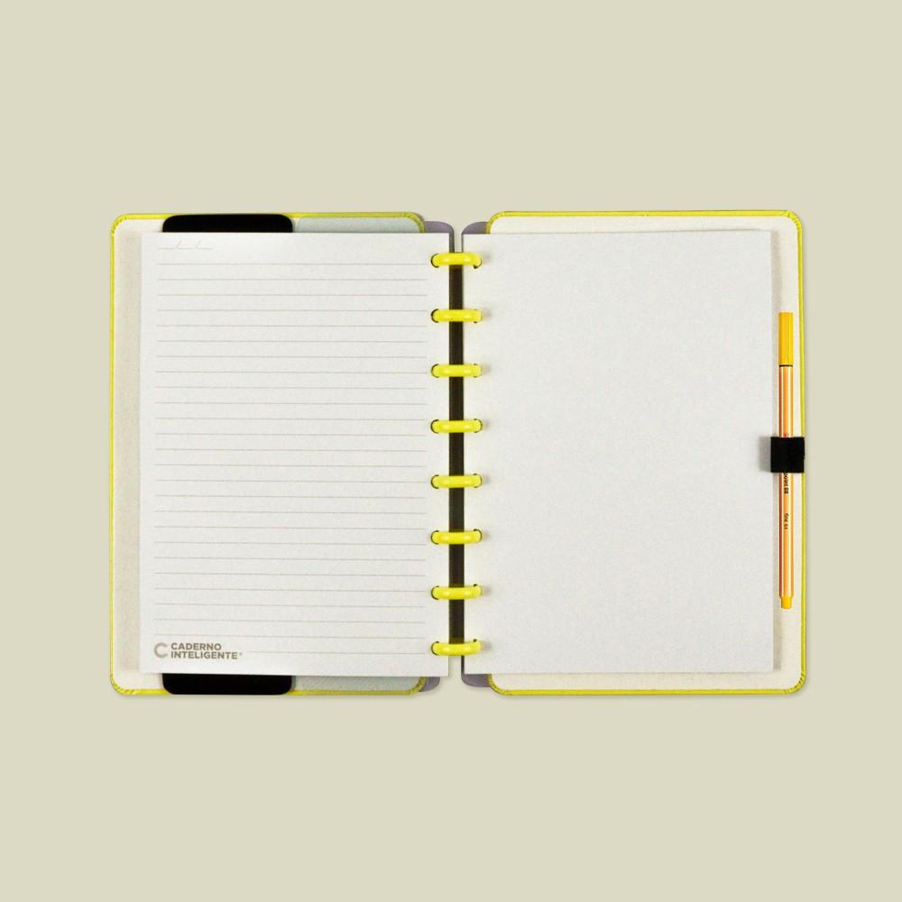 Caderno Inteligente A5 Color All Yellow