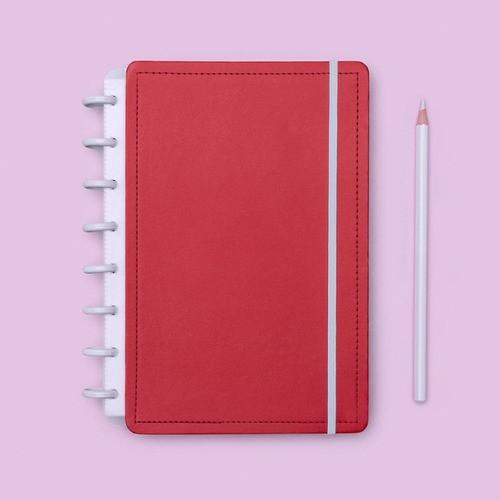 Caderno Inteligente A5 Color Vermelho Cereja