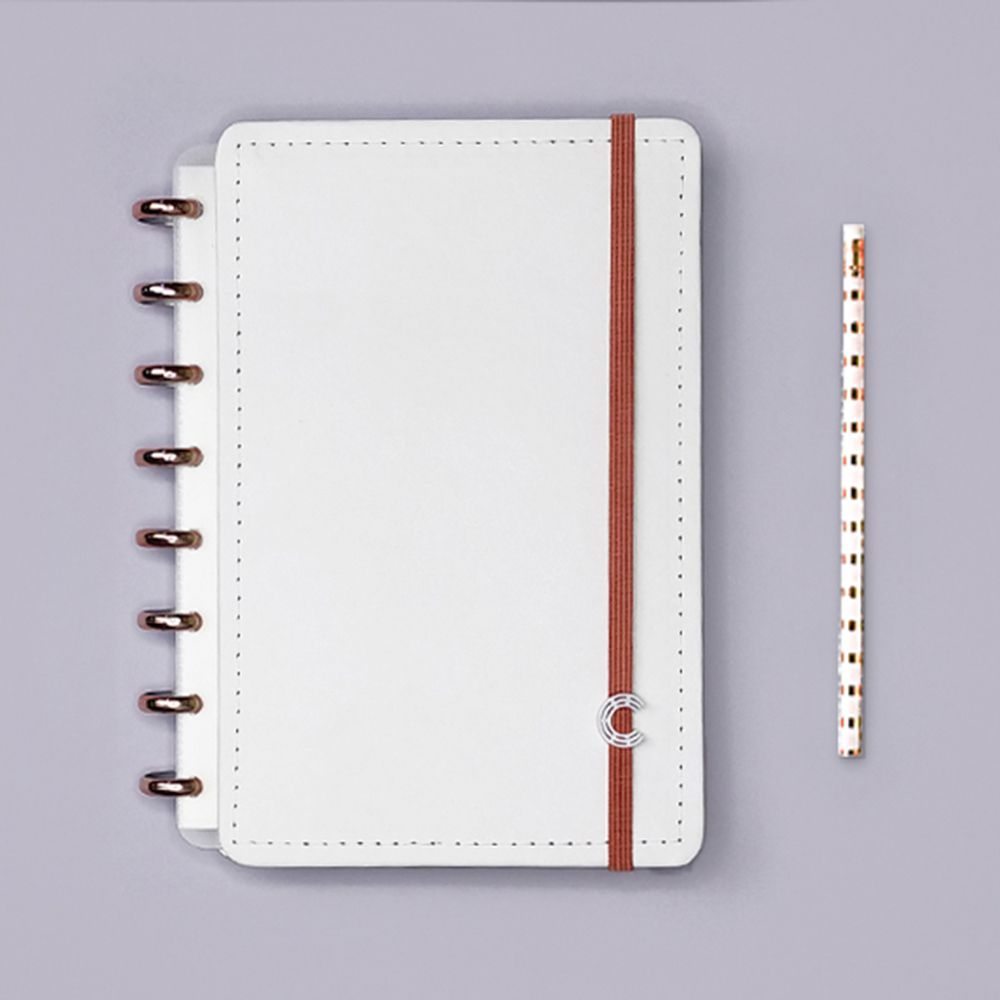 Caderno Inteligente A5 Deluxe All White
