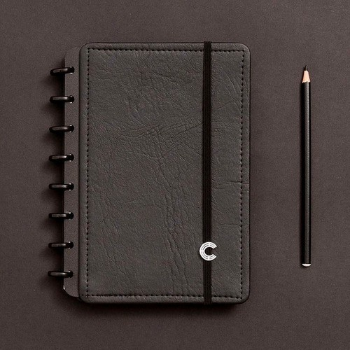 Caderno Inteligente A5 Deluxe Black Ecológico