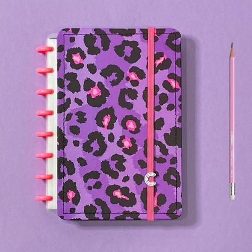 Caderno Inteligente A5 Estampa Mania Lilac