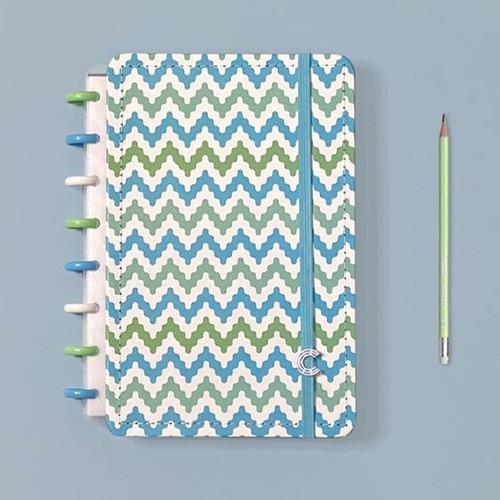 Caderno Inteligente A5 Estampa Mania Waves