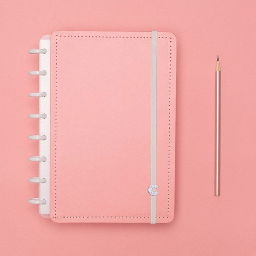 Caderno Inteligente A5 Rose Pastel