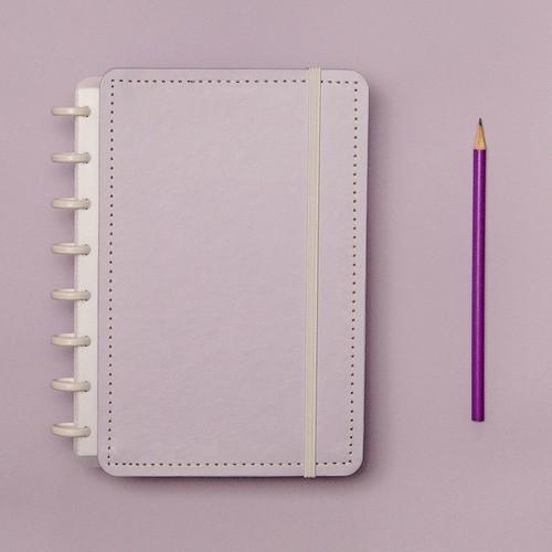 Caderno Inteligente A5 Tons Pastel Lilás