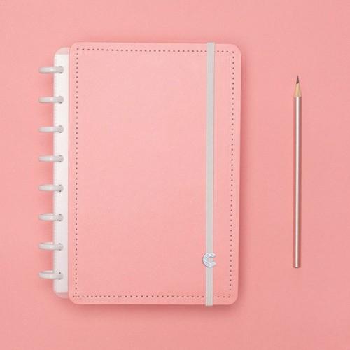 Caderno Inteligente A5 Tons Pastel Rose