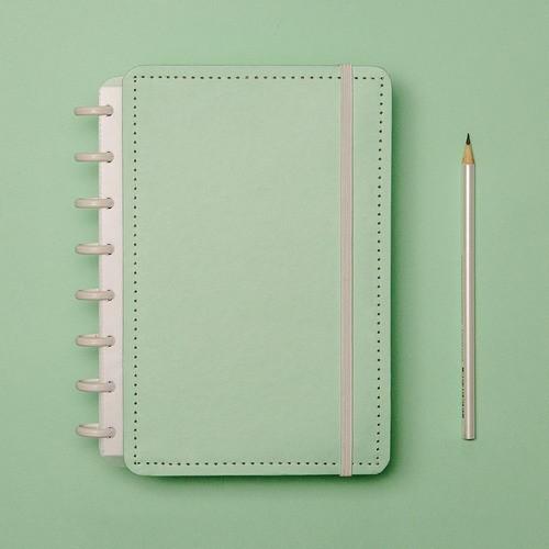 Caderno Inteligente A5 Tons Pastel Verde