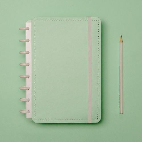 Caderno Inteligente A5 Verde Pastel