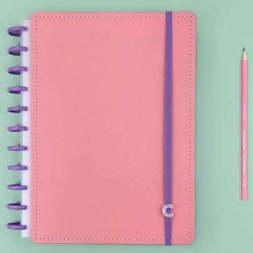 Caderno Inteligente G+ Rose Rosé
