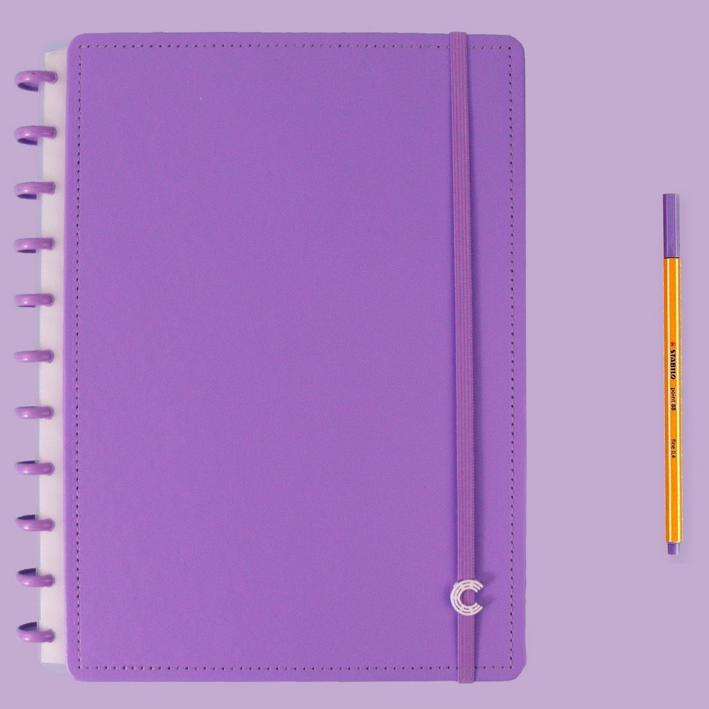 Caderno Inteligente Grande Color All Purple