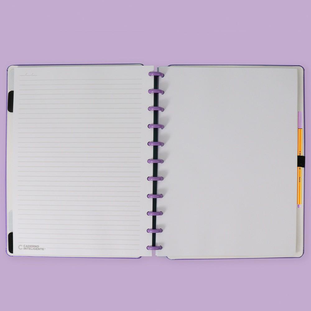 Caderno Inteligente Grande Color All Purple