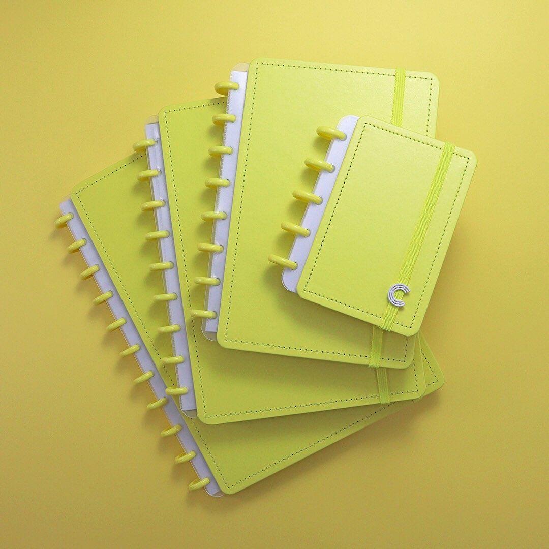Caderno Inteligente Grande Color All Yellow