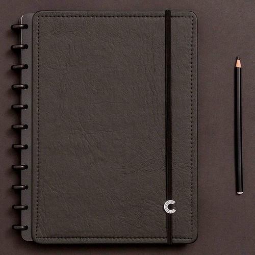 Caderno Inteligente Grande Deluxe Black Ecológico