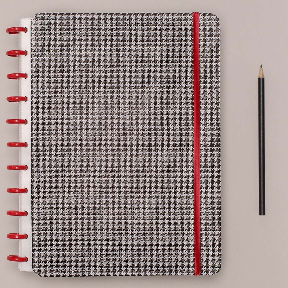 Caderno Inteligente Grande Deluxe Príncipe De Gales