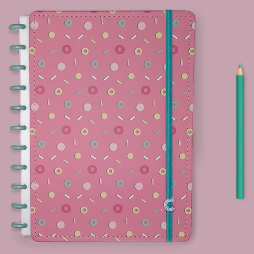 Caderno Inteligente Grande Estampa Mania Lolly