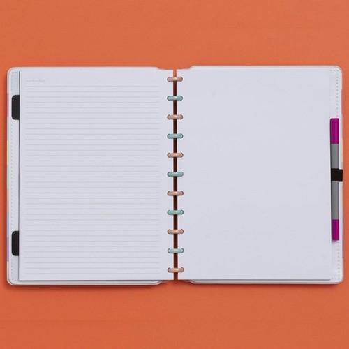 Caderno Inteligente Grande Tons Pastel Arco-Íris