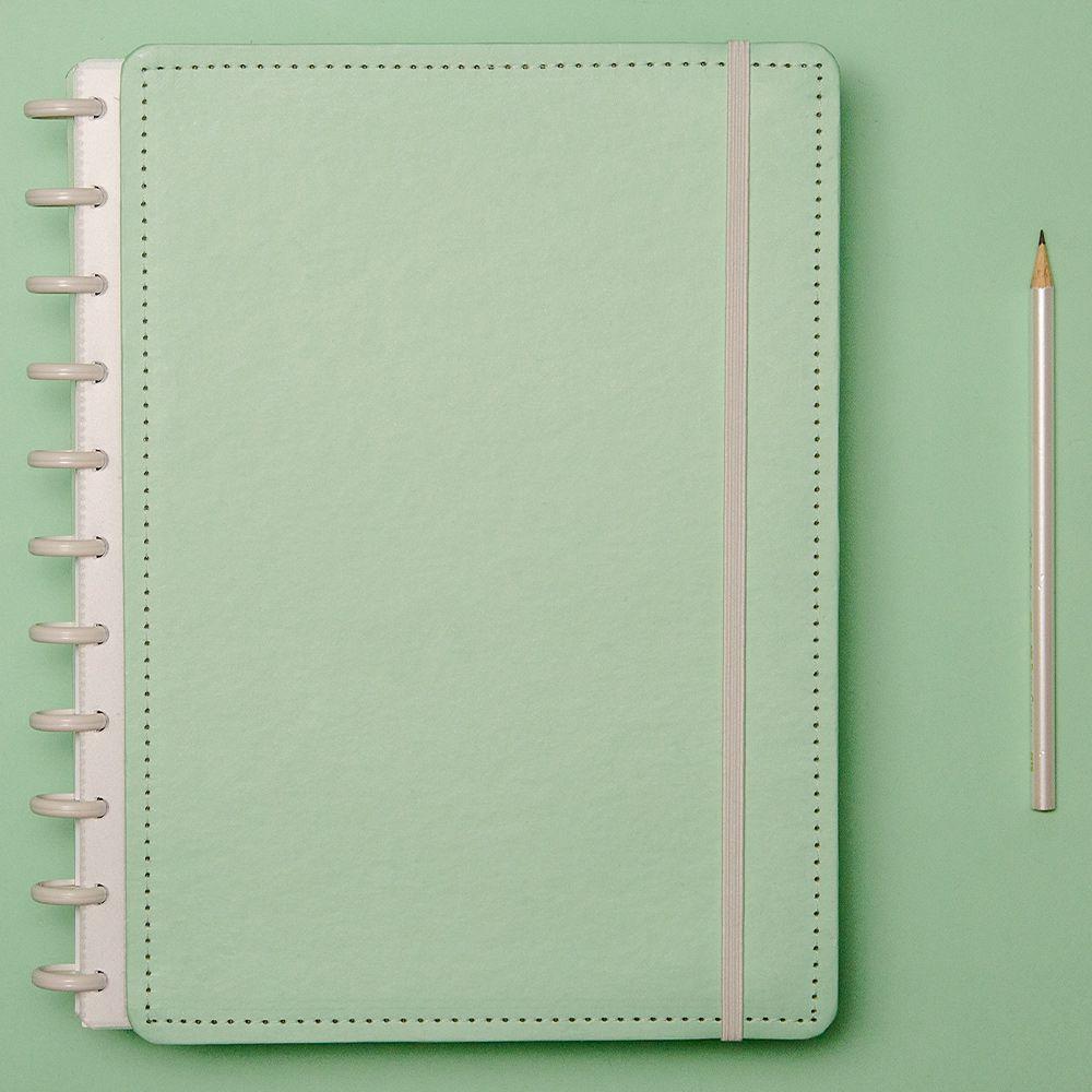 Caderno Inteligente Grande Verde Pastel