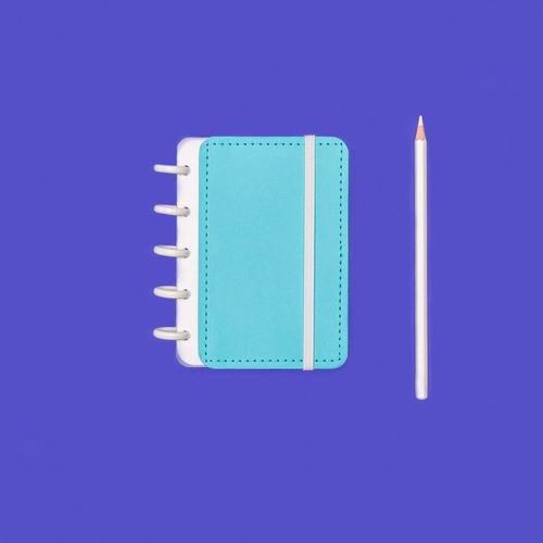 Caderno Inteligente Inteligine Color Azul Celeste