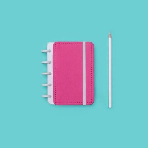 Caderno Inteligente Inteligine Color Rosa Choque