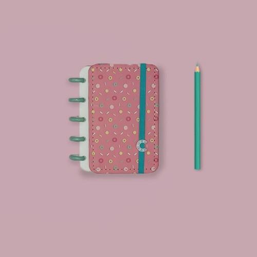 Caderno Inteligente Inteligine Estampa Mania Lolly