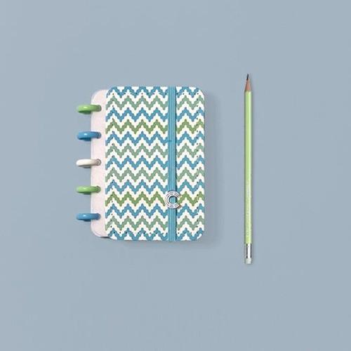 Caderno Inteligente Inteligine Estampa Mania Waves