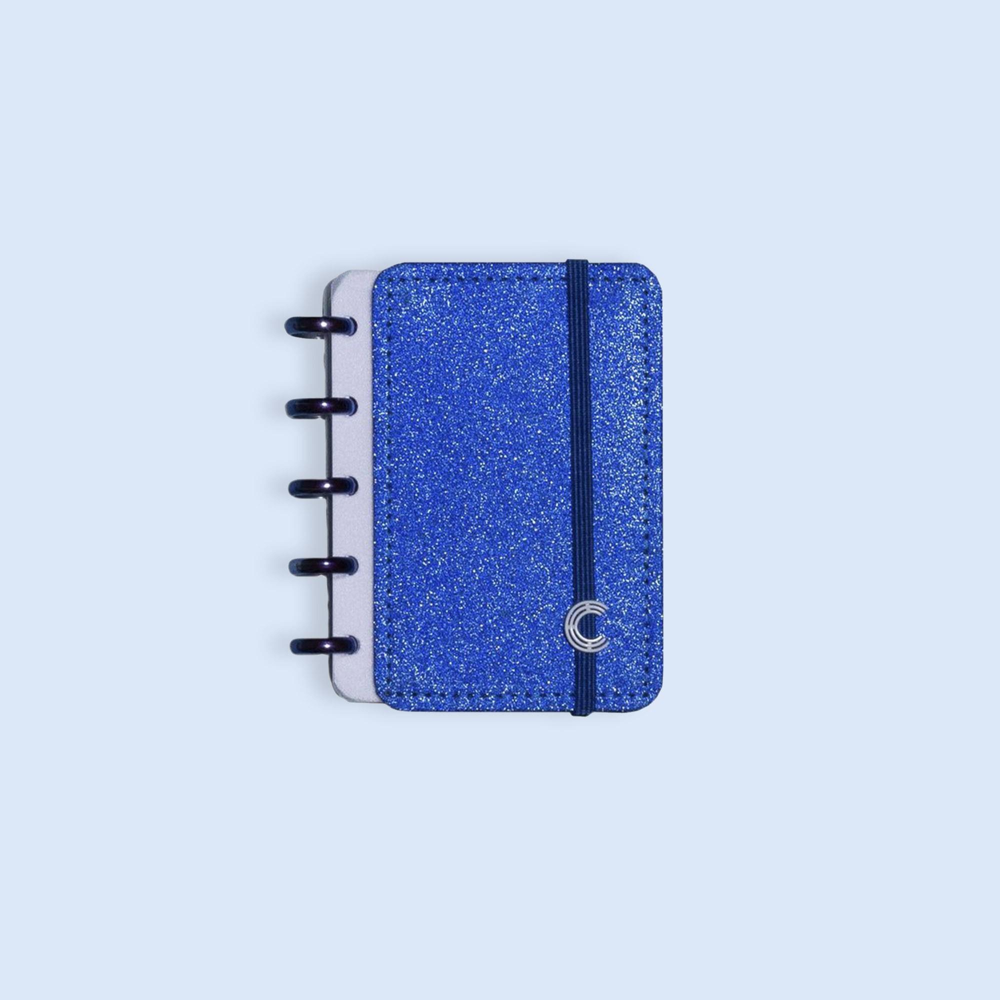 Caderno Inteligente Inteligine Glitter Blue