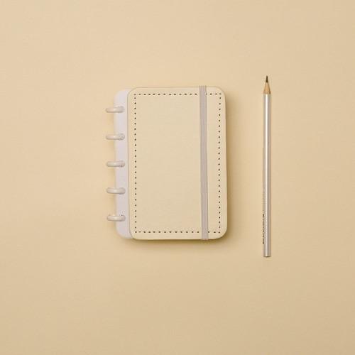 Caderno Inteligente Inteligine Tons Pastel Amarelo