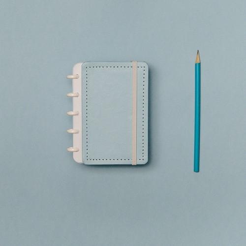 Caderno Inteligente Inteligine Tons Pastel Azul