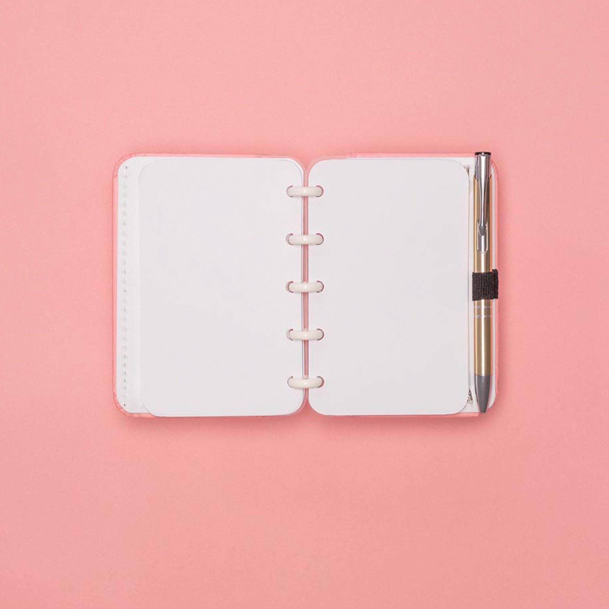 Caderno Inteligente Inteligine Tons Pastel Rose