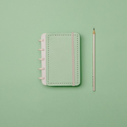 Caderno Inteligente Inteligine Tons Pastel Verde