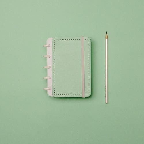 Caderno Inteligente Inteligine Verde Pastel