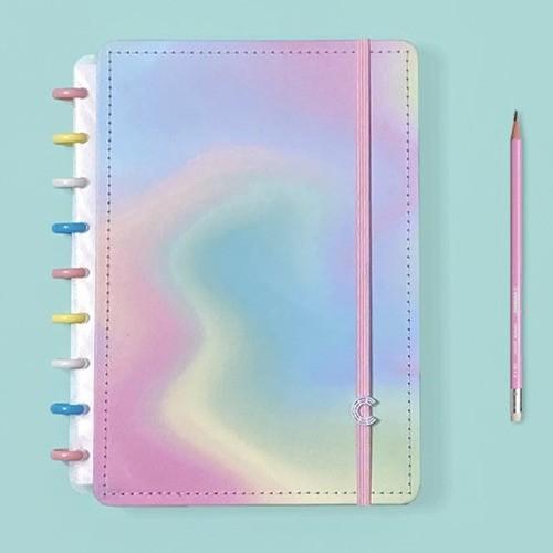 Caderno Inteligente Médio Color Candy Splash
