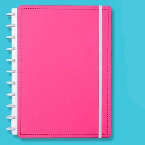 Caderno Inteligente Médio Color Rosa Choque