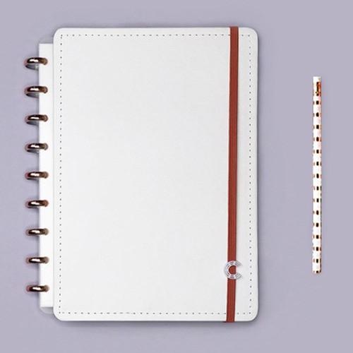 Caderno Inteligente Médio Deluxe All White