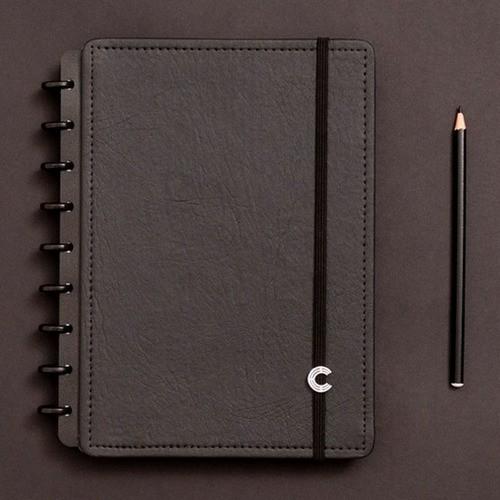 Caderno Inteligente Médio Deluxe Black Ecológico