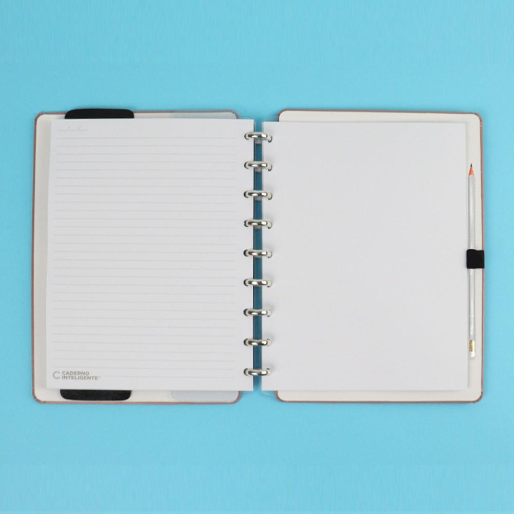 Caderno Inteligente Médio Deluxe Chic Nude