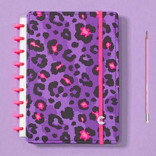 Caderno Inteligente Médio Estampa Mania Lilac