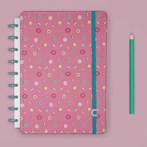 Caderno Inteligente Médio Estampa Mania Lolly