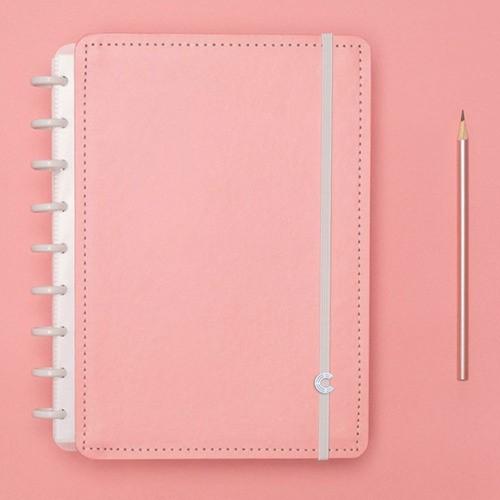 Caderno Inteligente Médio Tons Pastel Rose